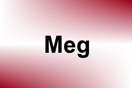 Meg name image
