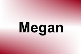 Megan name image