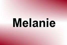 Melanie name image