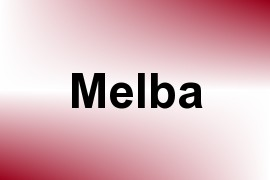 Melba name image