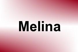 Melina name image
