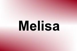 Melisa name image