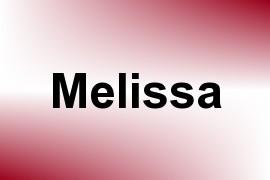 Melissa name image