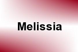 Melissia name image