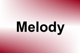 Melody name image