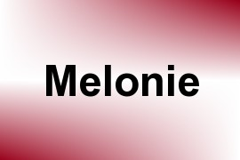 Melonie name image