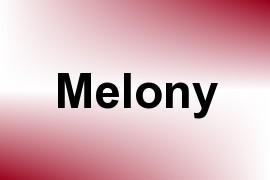 Melony name image