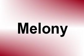 Melony name image
