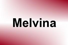 Melvina name image