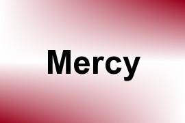 Mercy name image