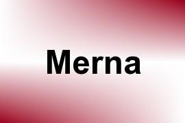 Merna name image