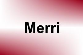 Merri name image