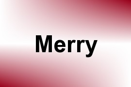 Merry name image