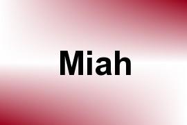 Miah name image