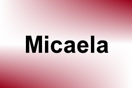 Micaela name image