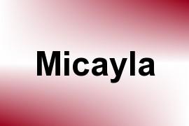 Micayla name image
