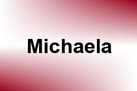 Michaela name image