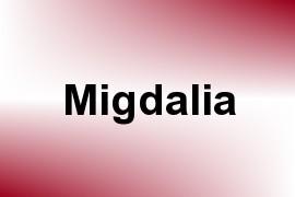 Migdalia name image
