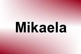 Mikaela name image