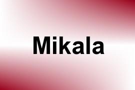 Mikala name image