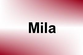 Mila name image