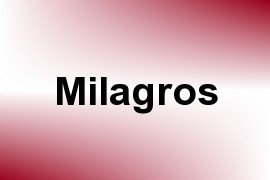 Milagros name image
