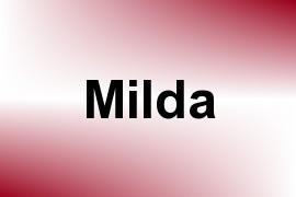 Milda name image