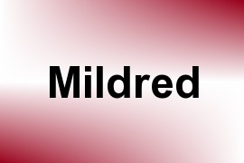 Mildred name image