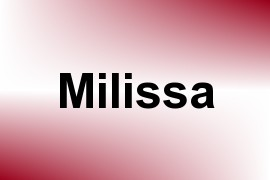 Milissa name image