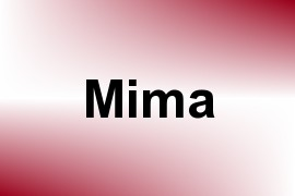 Mima name image