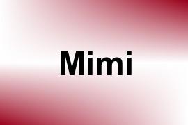 Mimi name image