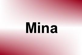 Mina name image
