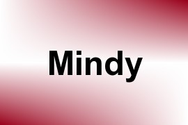 Mindy name image