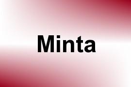 Minta name image