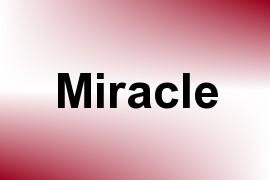 Miracle name image
