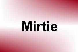 Mirtie name image