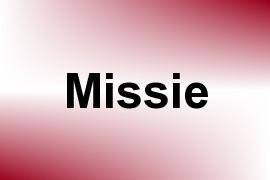 Missie name image