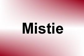 Mistie name image
