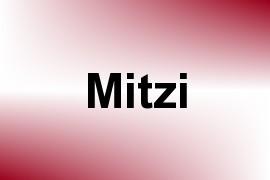 Mitzi name image