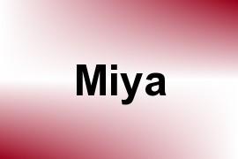 Miya name image