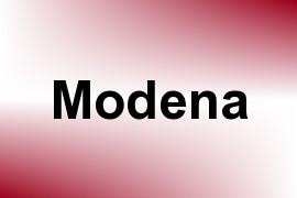 Modena name image