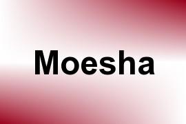 Moesha name image