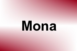 Mona name image