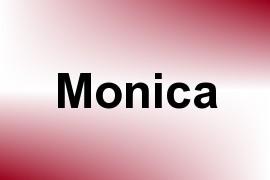 Monica name image