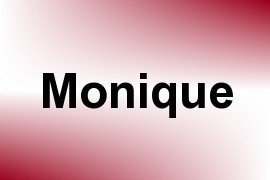 Monique name image