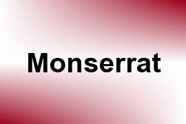 Monserrat name image