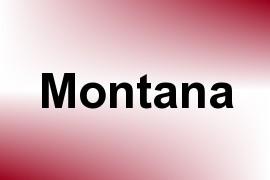 Montana name image