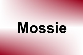 Mossie name image
