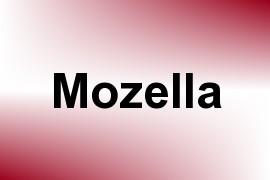 Mozella name image