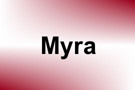 Myra name image